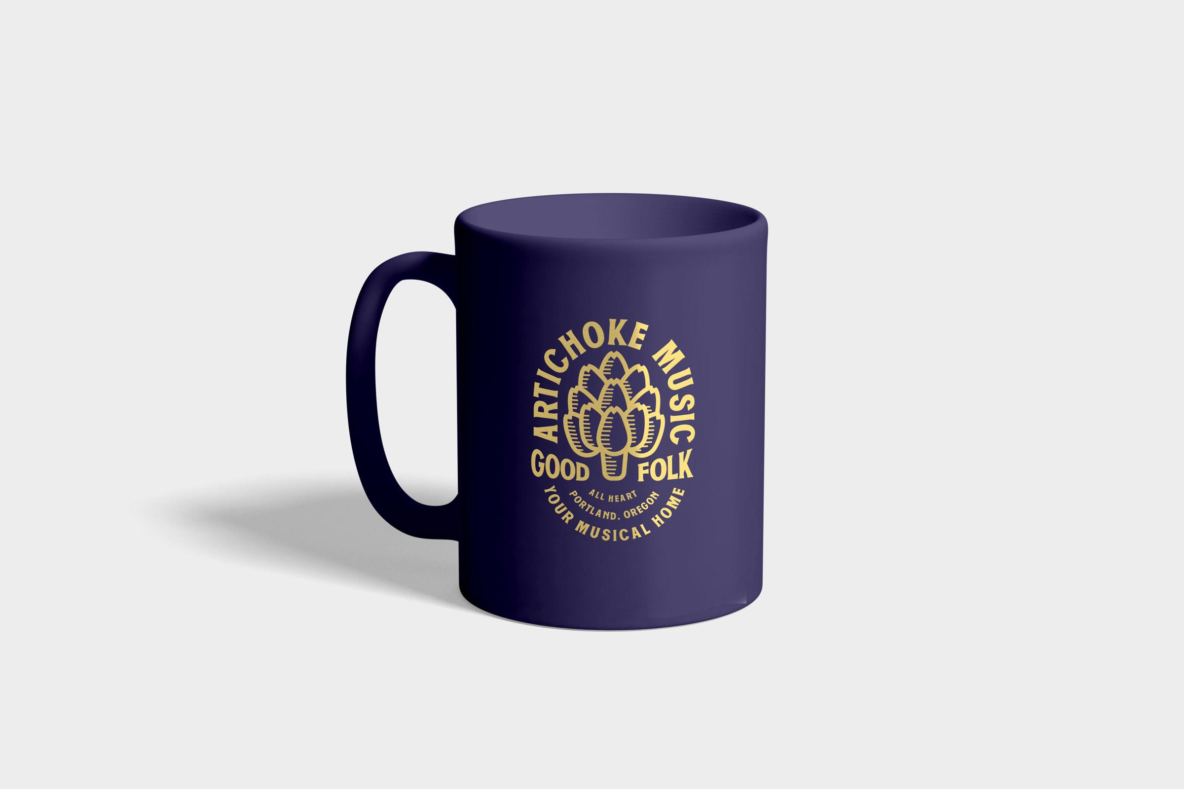 Artichoke Music Mug