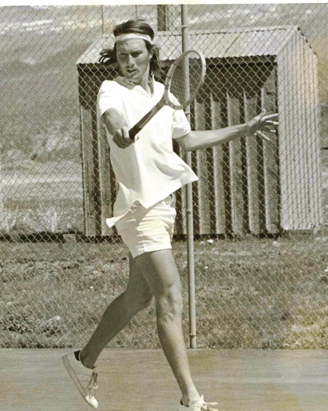 Tennis was more pure...back in the day.
