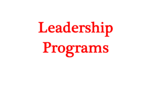 1 a leadership