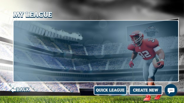 my league: list of leagues you have created or joined; you are not limited to just one league or have to create your own. You have options of multiple leagues and different times and dates of play.