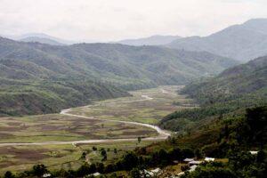 Hill or valley? Barak Basin near Maram along the NH-2