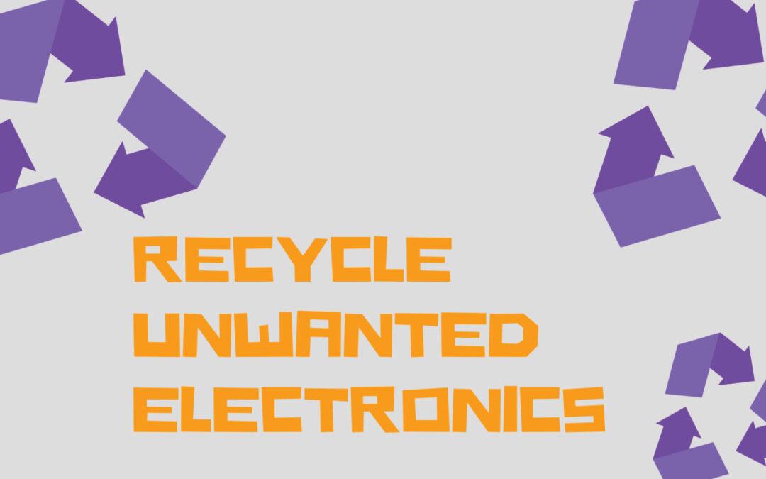 Electronics Recycle Week