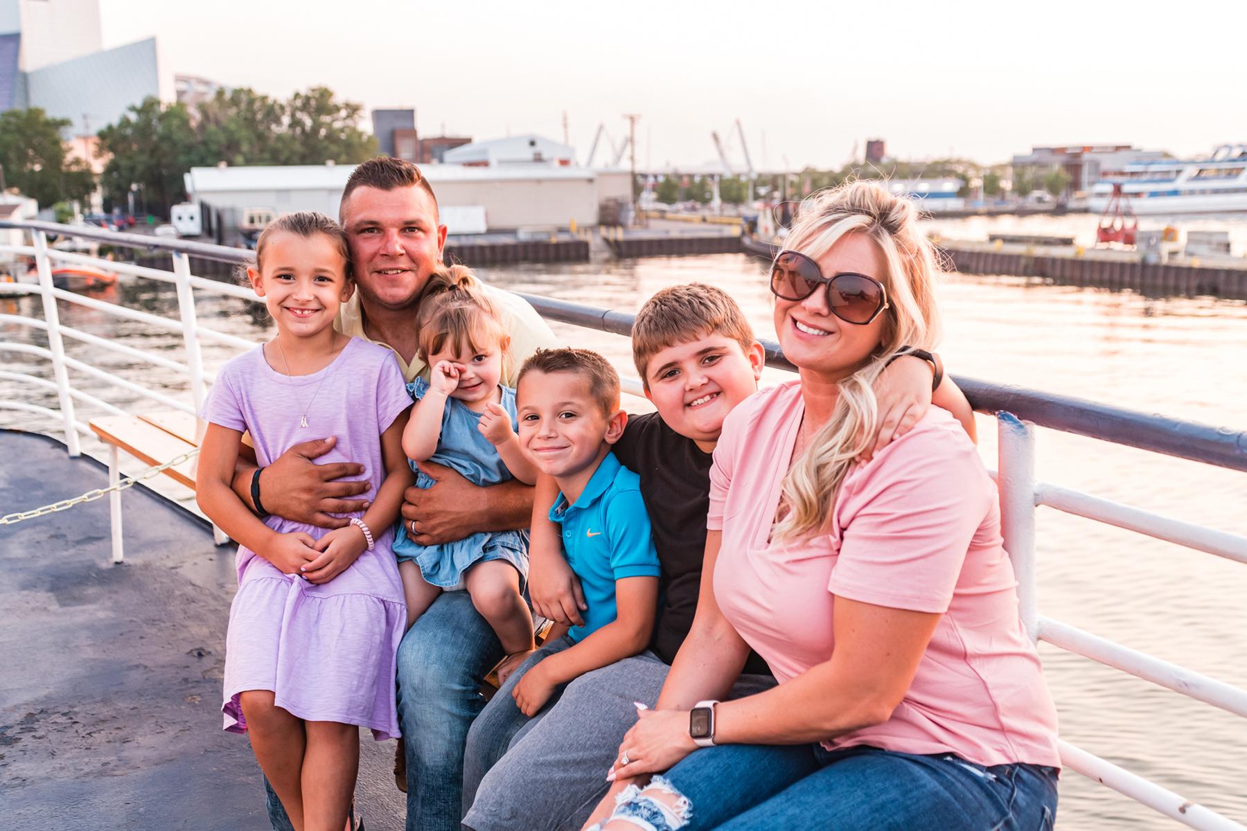 Nautica Queen Family on Deck