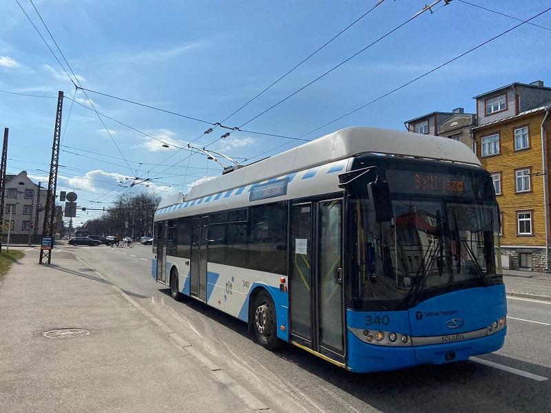 transporte público em tallinn onibus