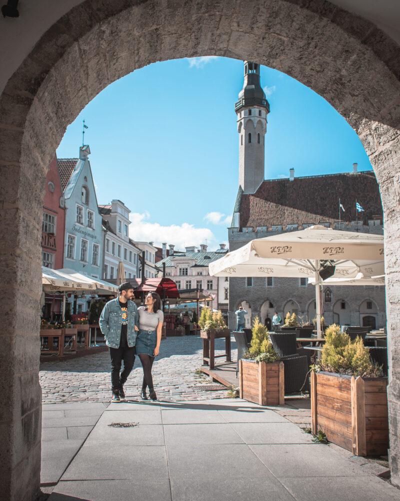 Town Hall Square Tallinn - Raekoja plats