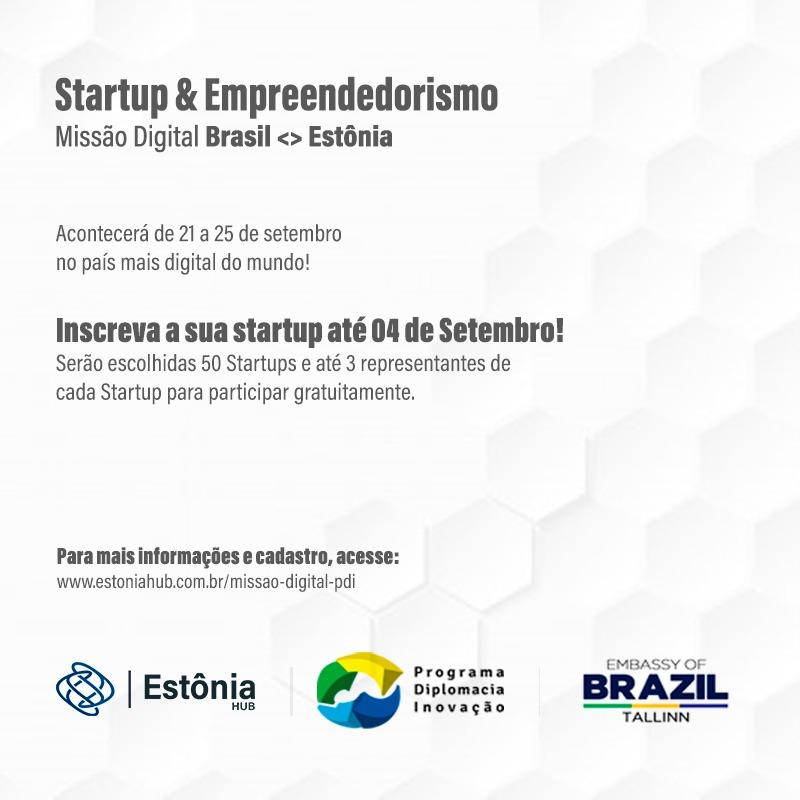 missao digital brasil e estonia