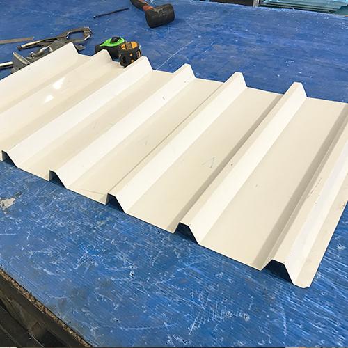 custom metal roof decking