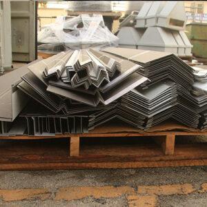 Standing seam Metal roof trim