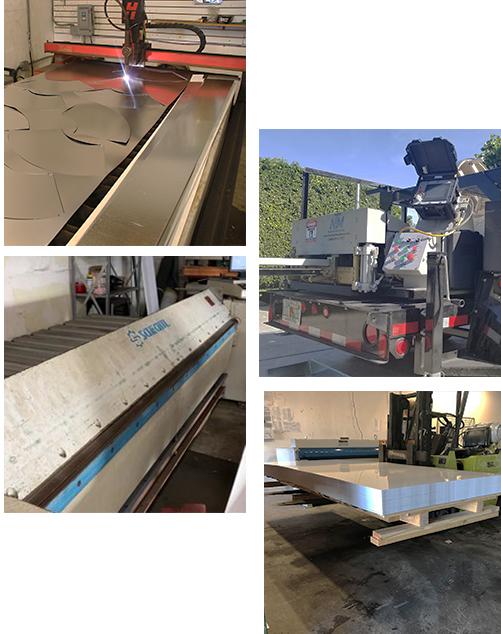 fabricators ft lauderdale sheet metal equipment