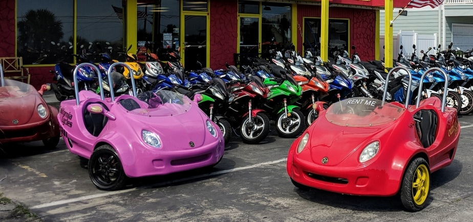 Outlaw Rentals - Panama City Beach - Scoot Coupe Rentals