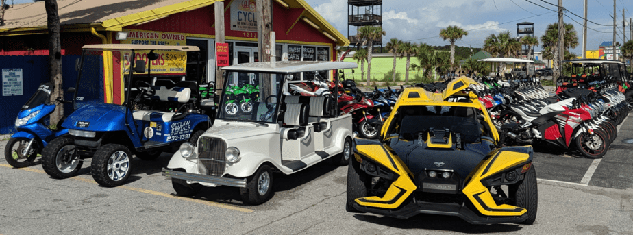 Outlaw Rentals - Golf Cart Rentals in Panama City Beach