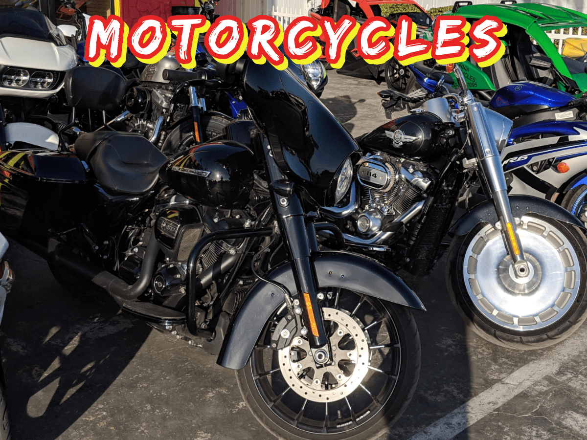 Motorcycle Rentals in Panama City Beach - Outlaw Rentals