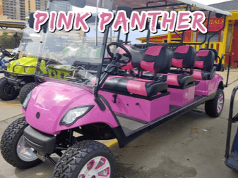 Golf Cart Rentals in Panama City Beach - Outlaw Rentals - California Cycles