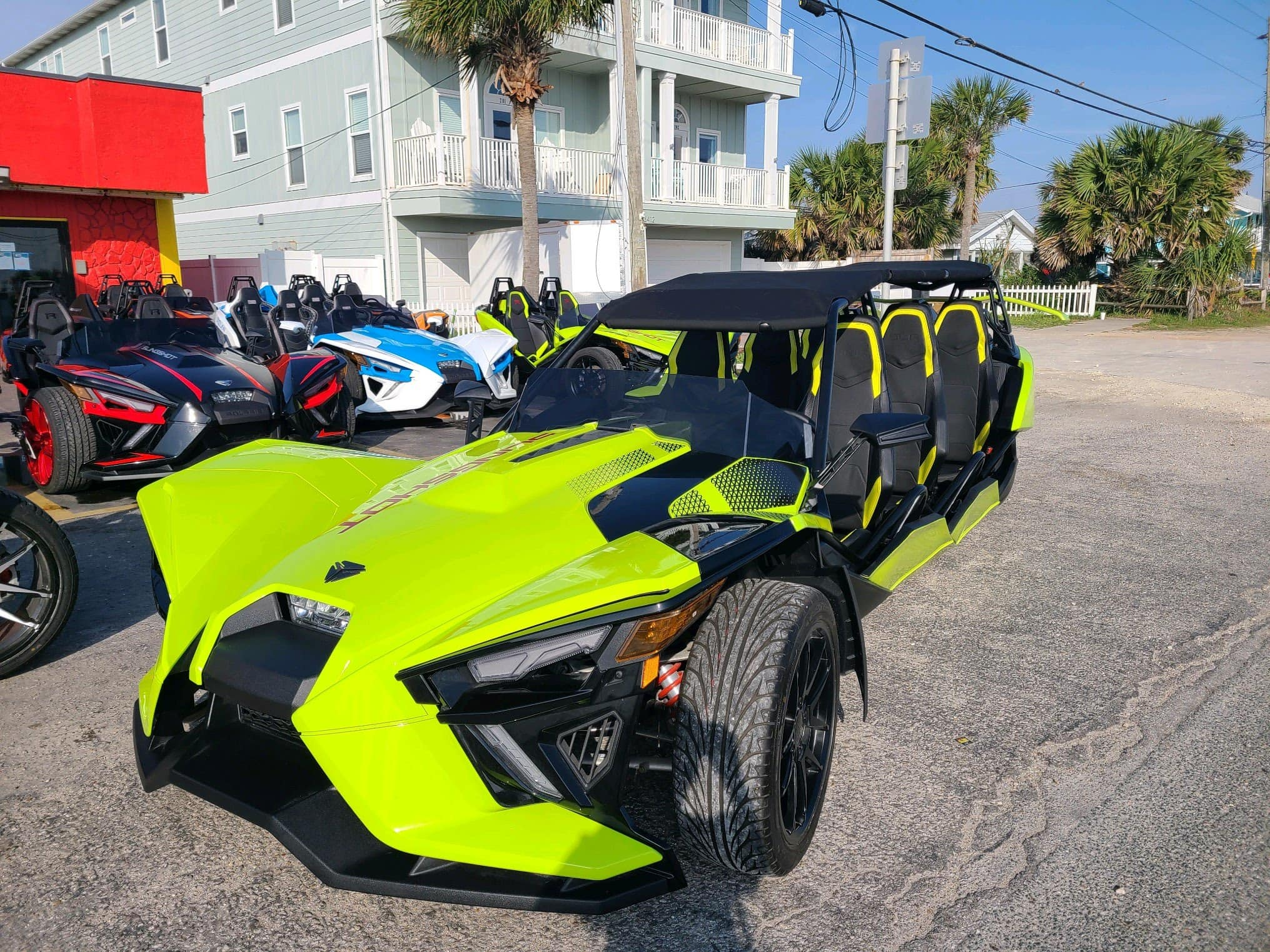 13416 Front Beach Road - California Cycles - Outlaw Rentals - Panama City Beach Vehicle Rentals
