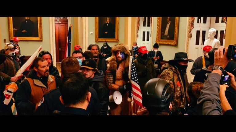 So, Trump Supporters Bum-Rushed the Capitol, Eh?