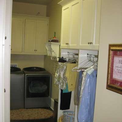 Closet Laundry Design Chattanooga