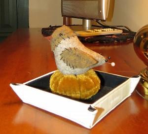 Green Room Bird