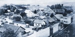 Rooftop view of Zoar