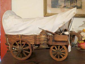 Conestoga Wagon at the Cobbler Shop