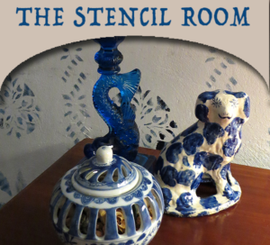 Cobbler Shop Stencil Room