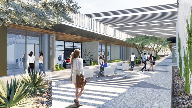 Phoenix AZ area business Park Central
