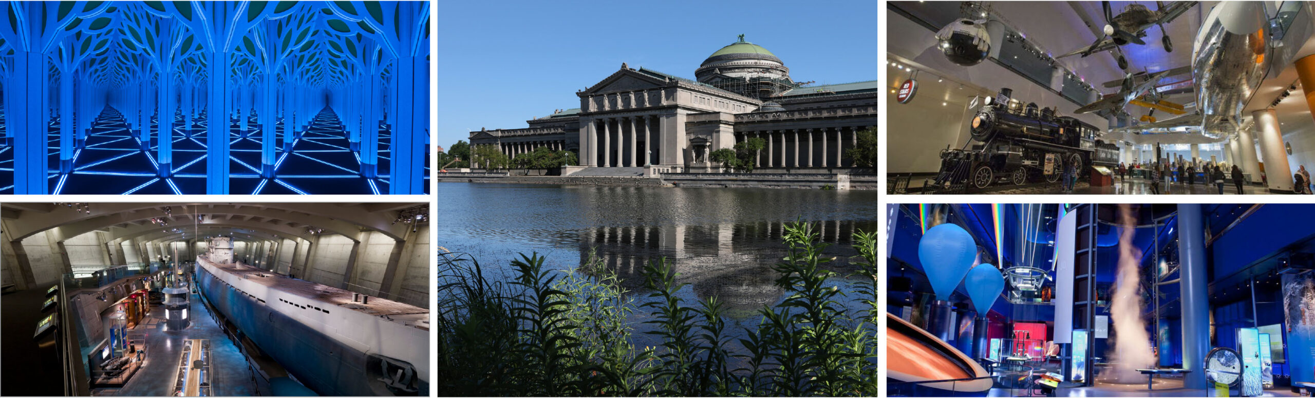 Museum of Science and Industry-Chicago is one of the best!