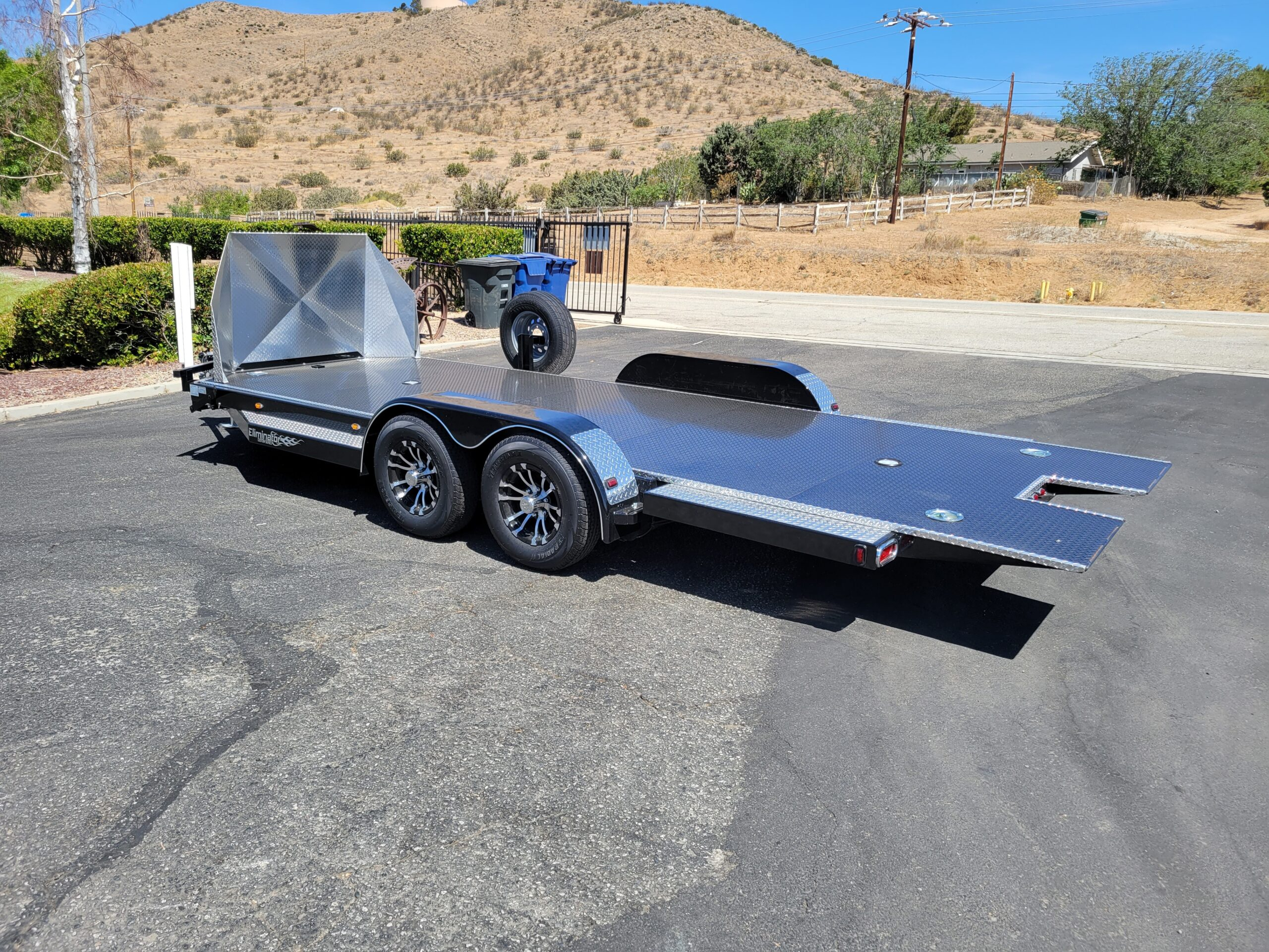 Eliminator 20ft 10K Tilt 'C' - Driver side rear 3/4 view