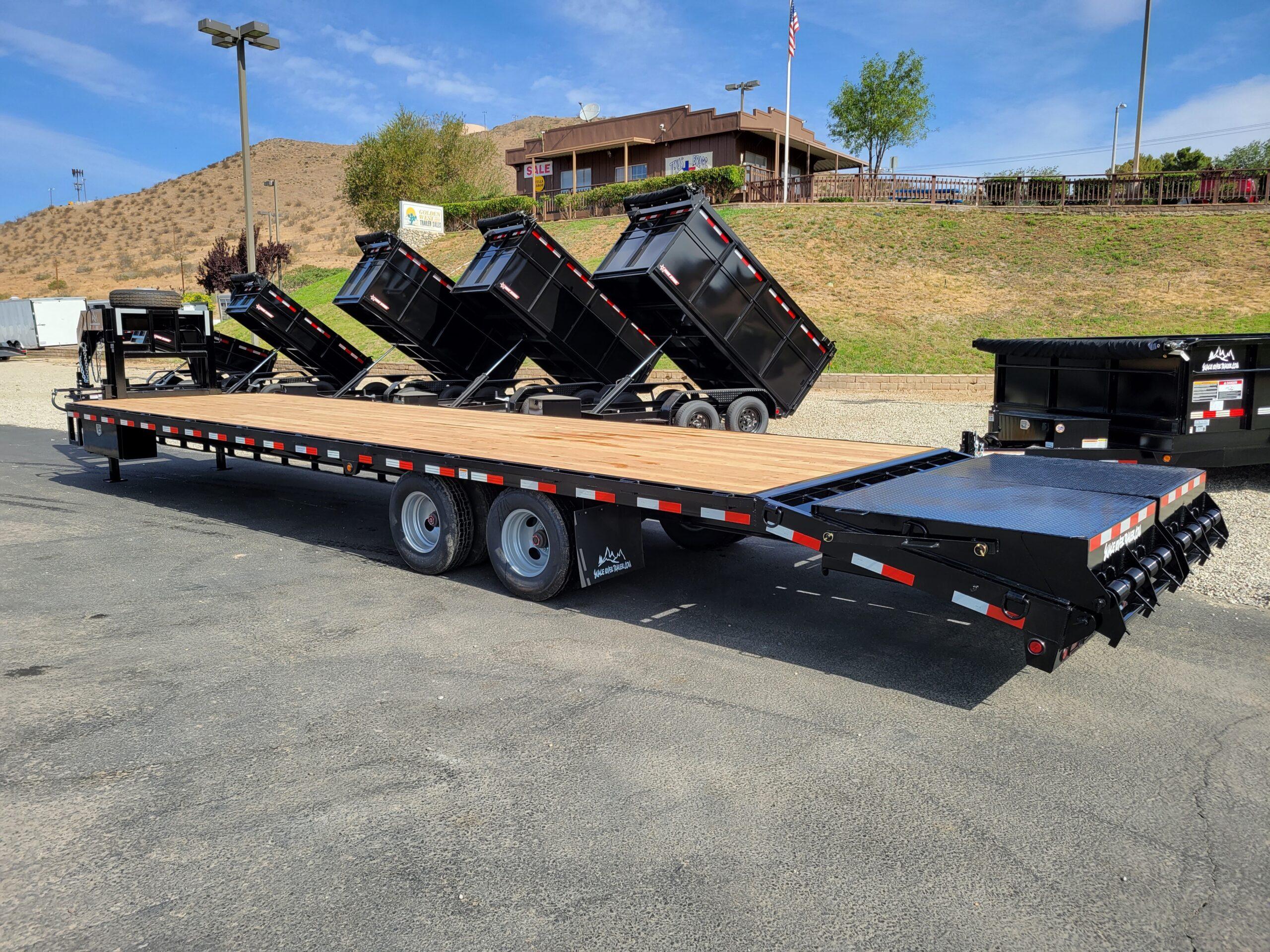 Snake River 8.5x35G/N AllRamp 24K - Driver side rear 3/4 view