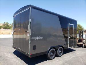 TNT 8.5x16 V-Nose SPCL. - Passenger side rear 3/4 view