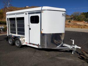 Maverick 2-Horse H/S D/D - Passenger side front 3/4 view