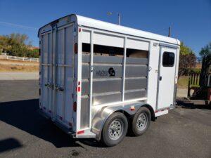 Maverick 2-Horse H/S D/D - Passenger side rear 3/4 view