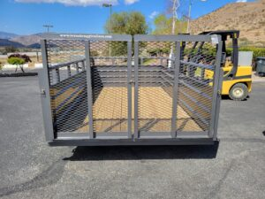 Rear view ramps closed