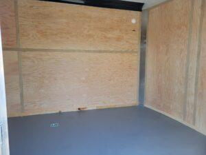 View through side door