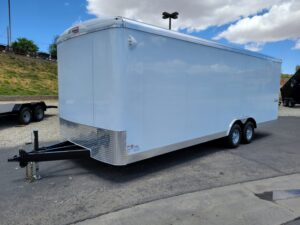 TNT 8.5x24 XCEL V-NoseDLX - Driver side front 3/4 view
