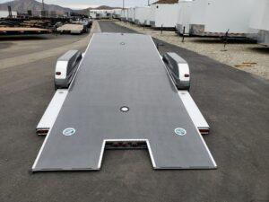 102 Ironworks Eliminator 20ft7K Tilt'A' - Rear view bed tilted