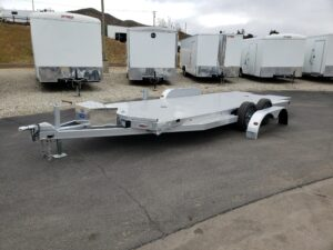102 Ironworks Eliminator 20ft7K Tilt'B' - Driver side front 3/4 view & fender removed