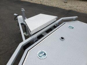 102 Ironworks Eliminator 20ft7K Tilt'B' - Receive tube, tie downs & tool box