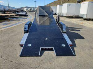 Eliminator 20ft 10K Tilt 'C' - Rear view bed tilted