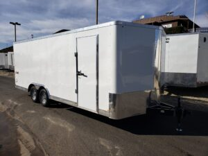 TNT 8.5x20 V-Nose 7K - Passenger side front 3/4 view