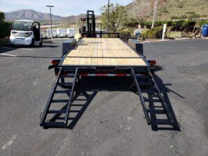 Texas Bragg 18+2LEO 14K - Rear view ramps down