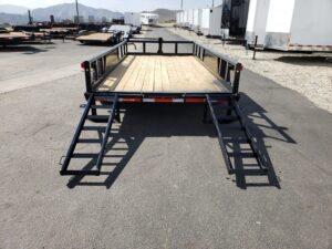Texas Bragg 16BP 14K Rear view ramps down