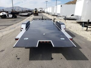 Rear view bed down