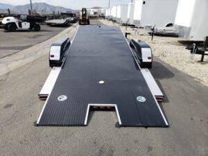 102 Ironworks Eliminator 10K Tilt - Rear view bed tilted