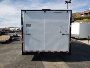 Big10 8x24 V-Nose 12/9.9K - Looking at rear ramp door closed