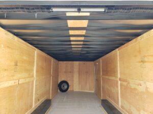 Big10 8x24 V-Nose 12/9.9K - Rear interior closeup