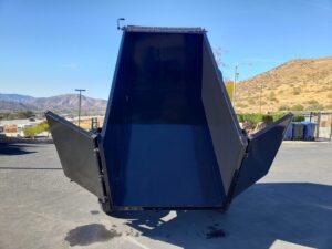 Five Star 5x10 10K Dump4ft - Rear view bed dumped