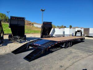 Snake River 8.5x35G/N 20K - Passenger side rear 3/4 view ramps down