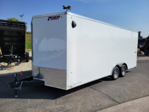 Pace Journey 8.5x20 7K - Driver side front 3/4 view