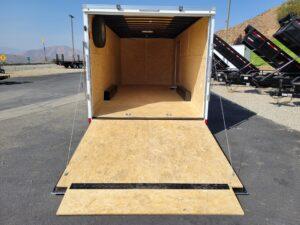 Pace Journey 8.5x20 7K - View looking through rear ramp door