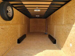 Pace Journey 8.5x24 10K - Rear interior view standing at door